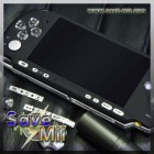 PSP3 - Faceplate (SMOOTH ZWART)