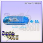 PSP3 - Replacement Cover (TRANSPARENT BLUE)