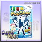 Wii - Popstar Guitar + Air Gitaar
