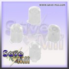 360 - ABXY Buttons Set (TRANSPARENT WHITE)