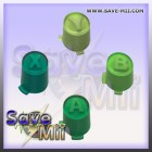360 - ABXY Buttons Set (GREEN)