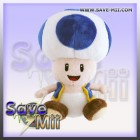 Super Mario Pluche Toad (BLUE)