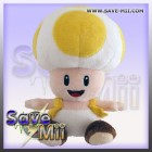 Super Mario Pluche Toad (YELLOW)