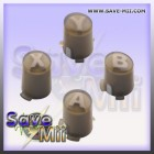 360 - ABXY Buttons Set (BROWN)