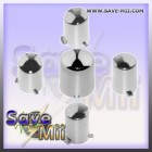 360 - ABXY Knoppen Set (CHROME)