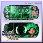 PSP2 - Decalgirl Stickers (GHOST GREEN)