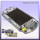 PSP3 - Faceplate (TRANSPARENT WEISS)