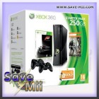 Xbox 360 Slim (250 GB) + Starter Pack