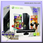 Xbox 360 Slim (250 GB) + Kinect + Panda Pack