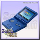 GBA - Gameboy Advance SP (BLAUW)