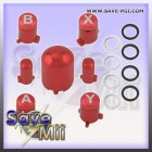 360 - Adjustable ABXY Guide Buttons (RED)