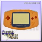 GBA - Replacement Cover (ORANGE)