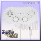 Wii GC - Classic Controller (WHITE)
