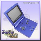 GBA SP - Vervang Behuizing (BLAUW)