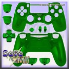 PS4 - Controller Behuizing (CHROME GROEN)