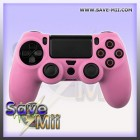 PS4 - Manette Étui en Silicone (ROSE)