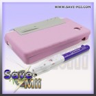 DSi - Capdase Silikoon Hoes (ROZE)