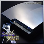 PS3 Slim - XCM Cyberchrome Couvercle